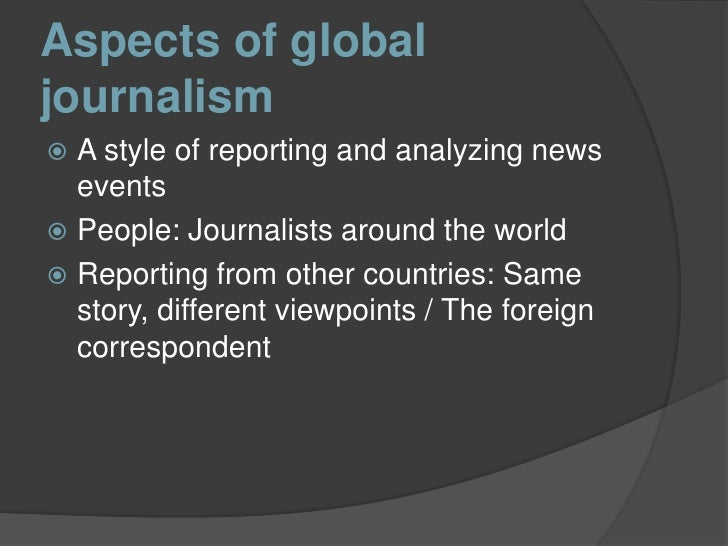 an analysis of the conflicts among the journalists Reuters journalists may not participate in conferences where tr sponsors an event with a third party if doing so would conflict with the trust principles by undermining our reputation for integrity, independence and freedom from bias.