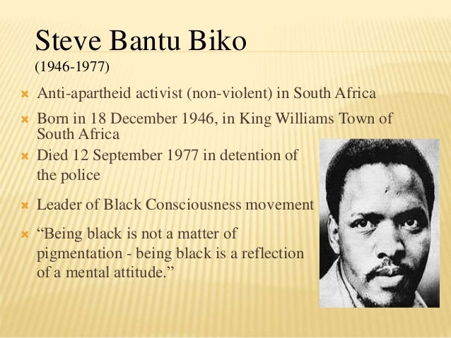 an introduction to the life of stephen bantu biko On the 70th anniversary of biko's birth, we remember his courage  thank you,  steve biko, for dedicating your life to the pursuit of equality for.