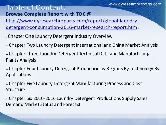global and china laundry detergent industry The global iron castings market report also discusses various drivers,  as a  result, manufacturers will start providing eco-friendly laundry detergents that use .