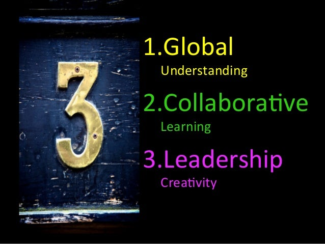 Global Learning and Collaboration - Key ideas and themes