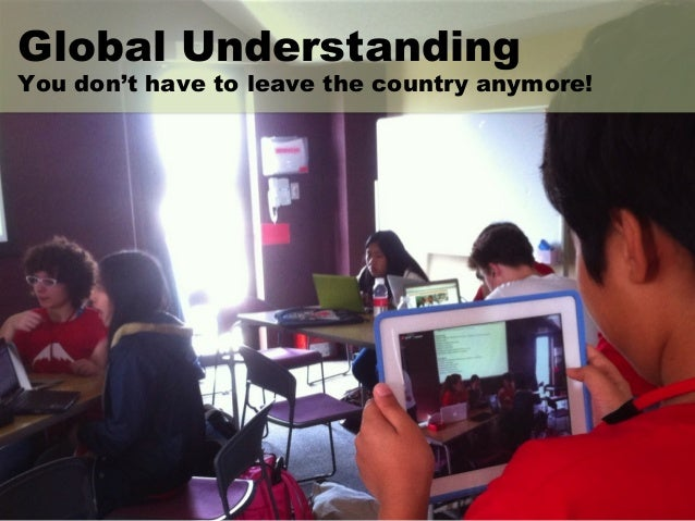 We must (and will) take learning global