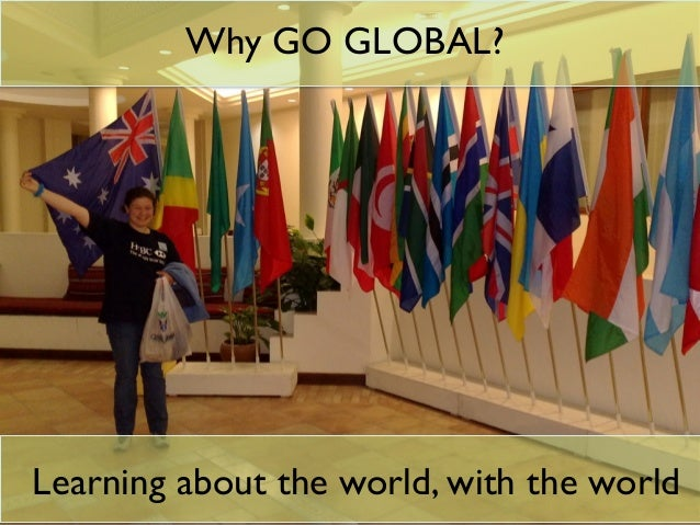 The 3 min Conversation How important is it to have a global perspective and understanding? How do we provide that for our ...