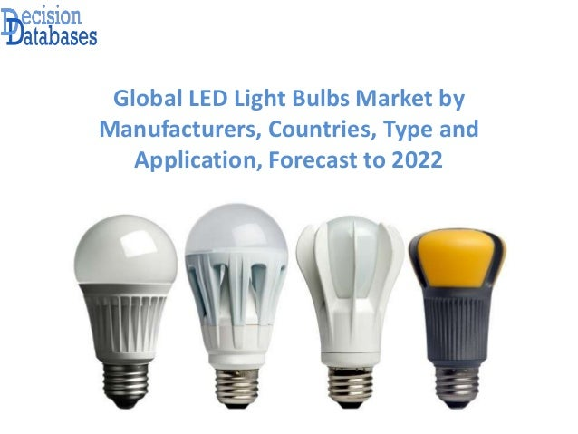Light Bulb Industry: Global LED Light Bulbs Market by Manufacturers, Countries, Type and  Application, ...,Lighting
