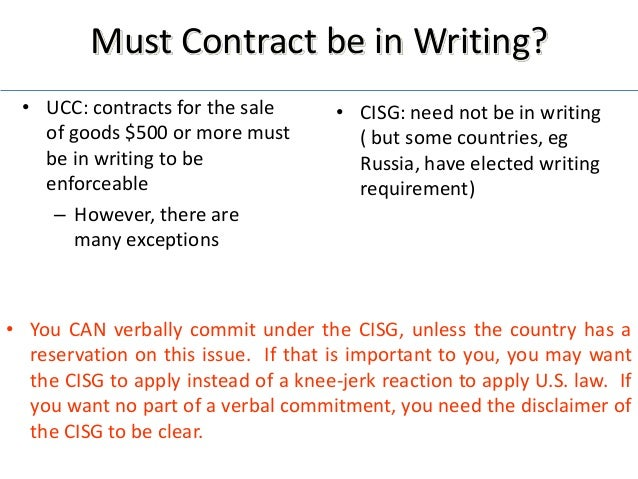 ucc cisg The doctrine of fundamental breach is chiefly predicated on the facts or assumption that a party to a contract or contract of sale has committed a misnomer.