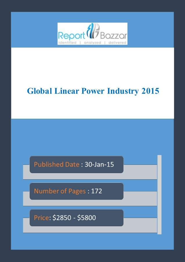 Global Linear Power Industry 2015
