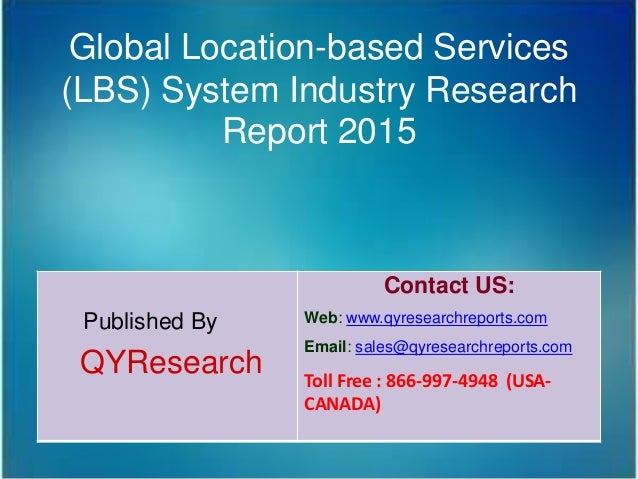 Research paper on location based services