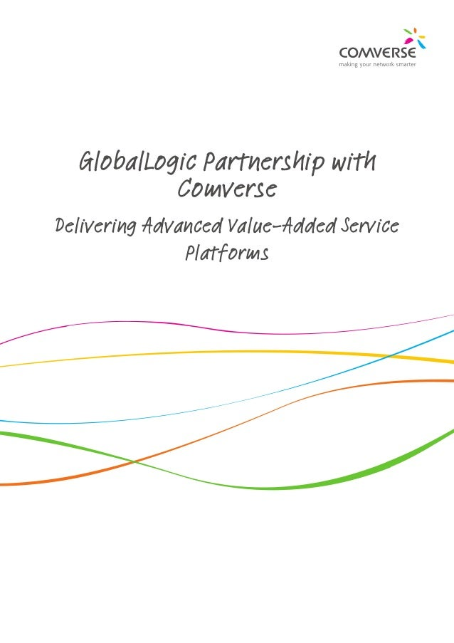 GlobalLogic Partnership with Comverse Delivering Advanced Value-Added Service Platforms