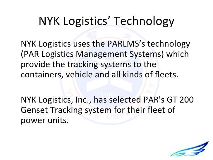 Global logistics management