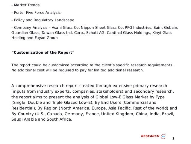 Big Opportunities of Global Low-E Glass Market (Value