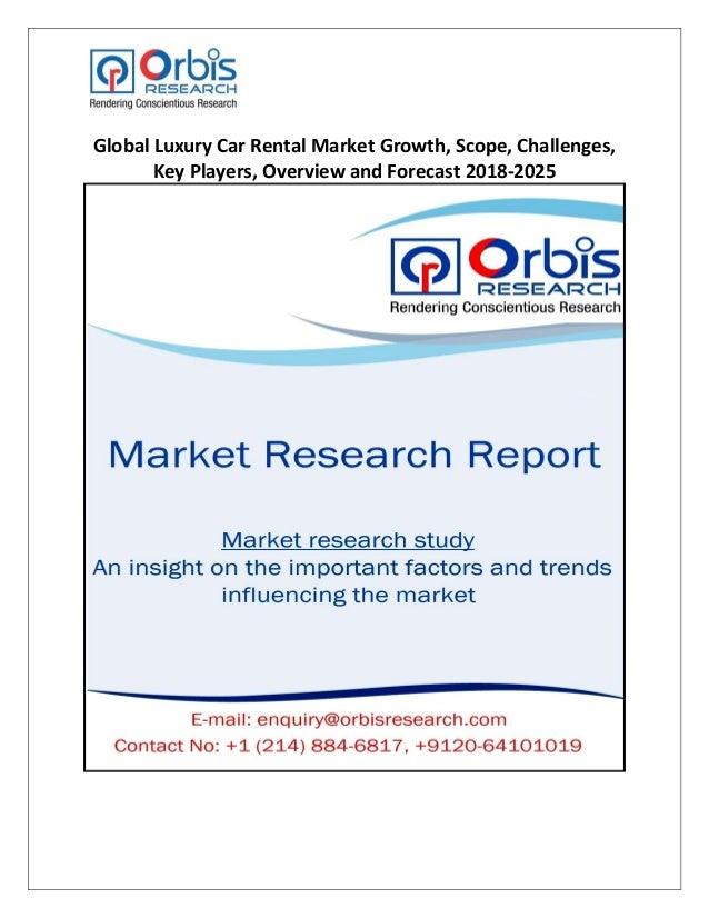 Global Luxury Car Rental Market Growth Scope Challenges Key Player