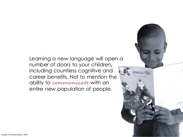 Learning a new language will open a number of doors to your children, including countless cognitive and career benefits. N...