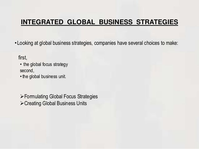 4 phases of international marketing involvement Chapter 1 – the scope and challenge of international marketing chapter objective 1 to understand broad picture of the global environment within which.