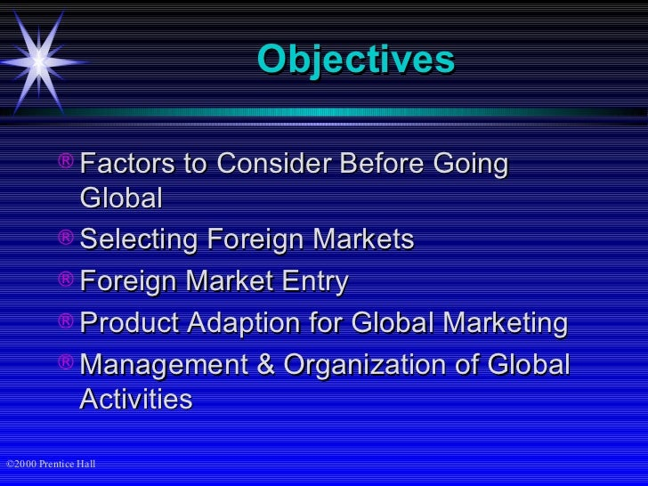 international marketing factors to be considered Four factors to consider when creating a market research function with one axis for business/marketing value/ impact.