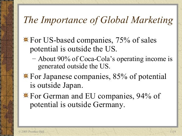 the importance of globalization for maximizing the yield of all products California career technical education model curriculum standards grades seven through twelve adopted by the california state board of education may 2005.