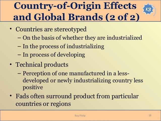 Consumer ethnocentrism