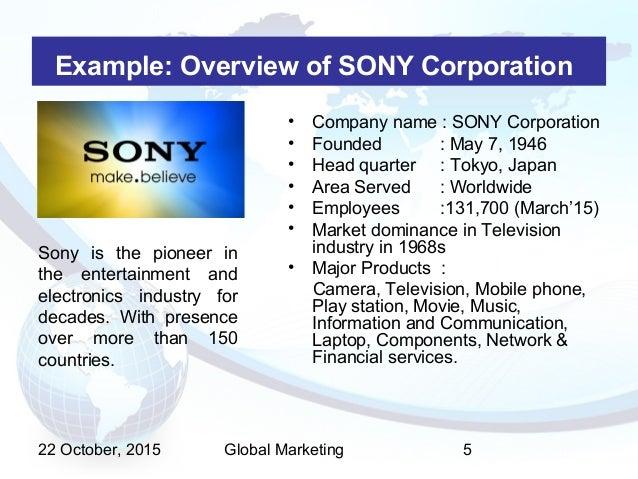 multidomestic corporation examples