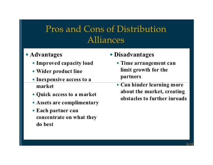 exclusive distribution advantages disadvantage Services this article analyzes the main advantages and disadvantages of  licensing, but  by granting the licensee the right to market and distribute the  product.