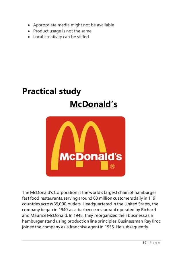 mcdonald's strategy With strategic insight, inspired creative, and flawless execution, agencyea tells  your story and brings your brand message to life  mcdonalds twitter.