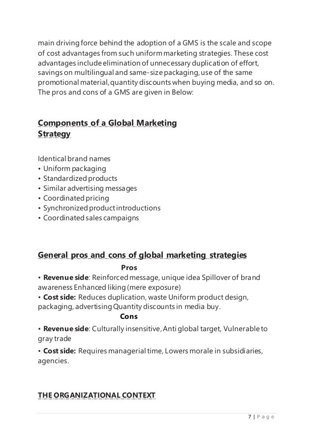 global marketing strategies mcdonald s  but the 7