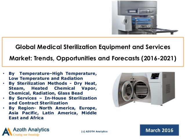 Global Medical Sterilization Equipment and Services Market