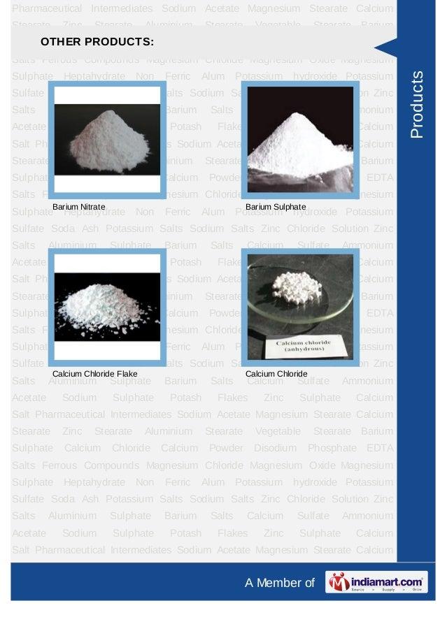 Pharmaceutical Intermediates Sodium Acetate Magnesium Stearate CalciumStearate     Zinc     Stearate      Aluminium    Ste...