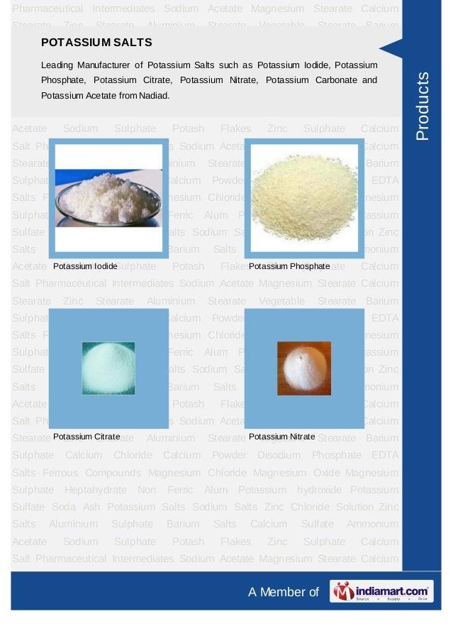 Pharmaceutical Intermediates Sodium Acetate Magnesium Stearate CalciumStearate    Zinc   Stearate    Aluminium      Steara...