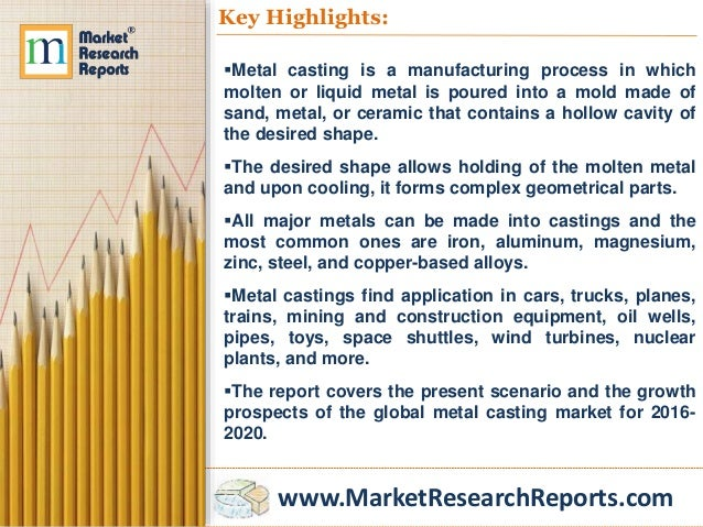 Aluminum Casting Market Size Worth $936 Billion By 2025 | CAGR: 8%