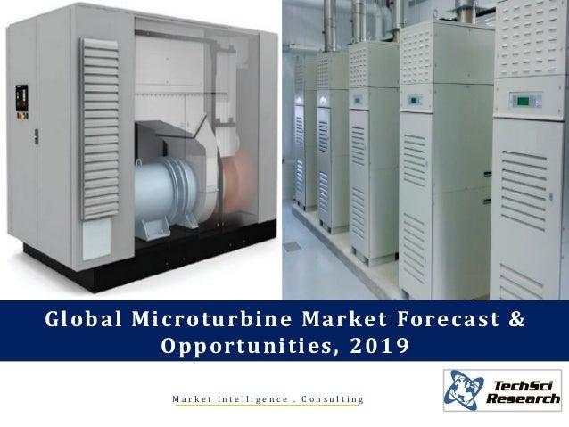 M a r k e t I n t e l l i g e n c e . C o n s u l t i n g Global Microturbine Market Forecast & Opportunities, 2019