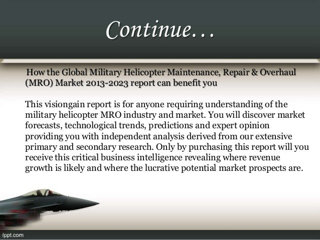 the global military rotorcraft market 2013 2023 Product synopsis summary this report provides readers with a comprehensive analysis of the military rotorcraft market through 2013-2023, including.