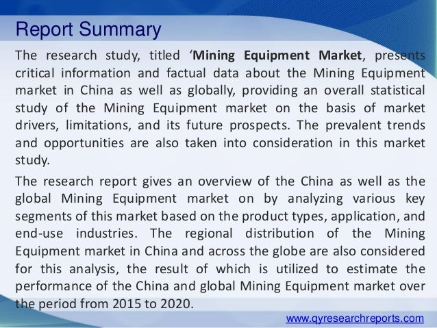 market overview global mining and construction machinery Industry insights the global mining equipment market size was valued at usd 7239 billion in 2015 technological developments, such as data transmission through cloud networks and real-time monitoring of activities, have resulted in the increasing use of smart mining solutions offering considerable benefits over conventional mechanical products.