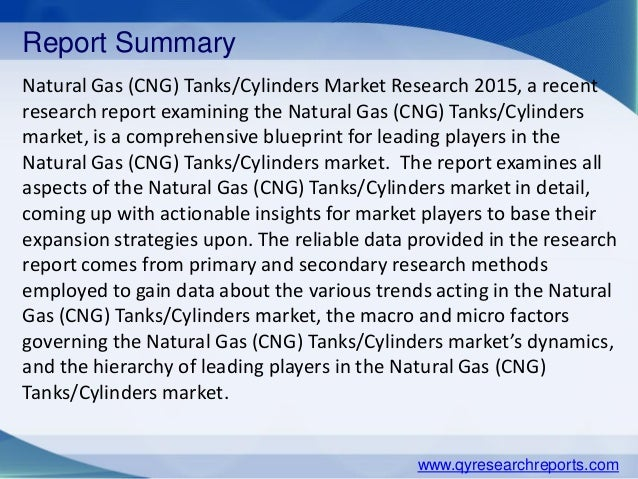 research report on natural gas and Reports and markets published that natural gas storage industry market, 2013-2023 industry research reports an exhaustive study on the present market scenario of the.