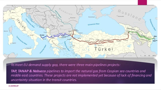 Global natural gas pre conflict overview