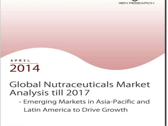 Global Nutraceuticals Industry Analysis till 2017 – Emerging Markets in Asia-Pacific and Latin America to Drive Growth pro...