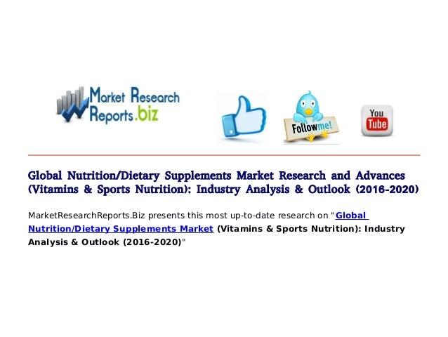 Dietary Supplements Market Size Worth $2702 Billion By 2024
