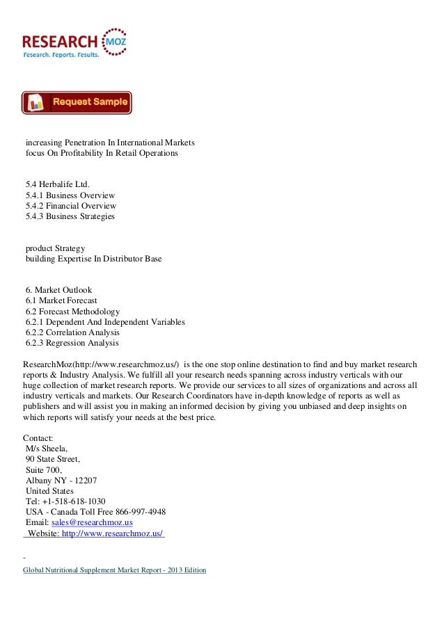 nbj supplement business report 2013