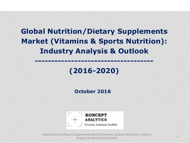 an analysis of the topic of the dietary supplement industry Resources and links for applications, forms, guidance, and other items of interest to industry members.