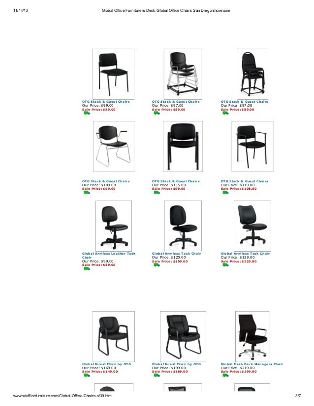3 11 14 13 Global Office Furniture