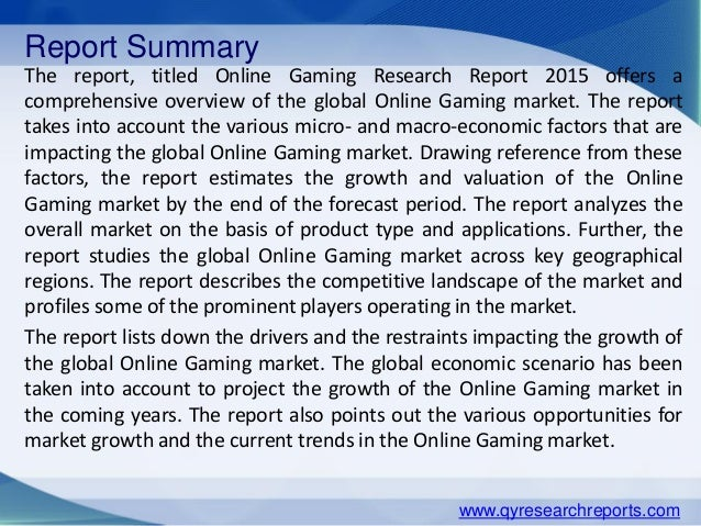 an analysis of online games A handful of recent content analyses have explored video games to date, focusing primarily on violence and gender issues further work in this area is needed, but several methodological challenges must be addressed in particular, scholars need to consider the problems of effectively unitizing and .