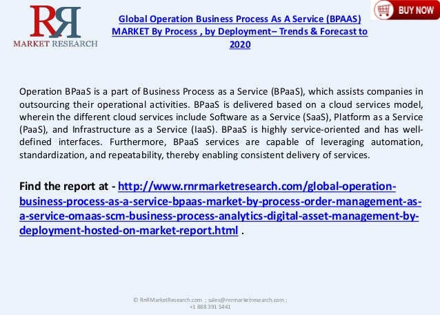 2020 Global Operation Business Process as a Service Industry Trends, …