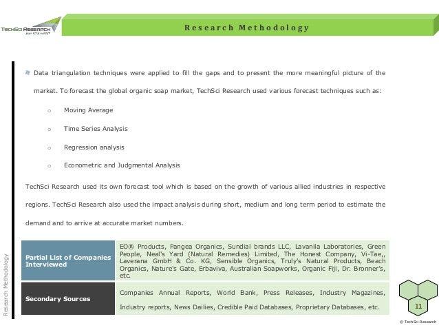 Global Organic Soap Market Forecast 2022 - brochure