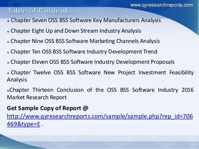 Global OSS/BSS Software Market Projecting Firm Growth through 2019: TechNavio