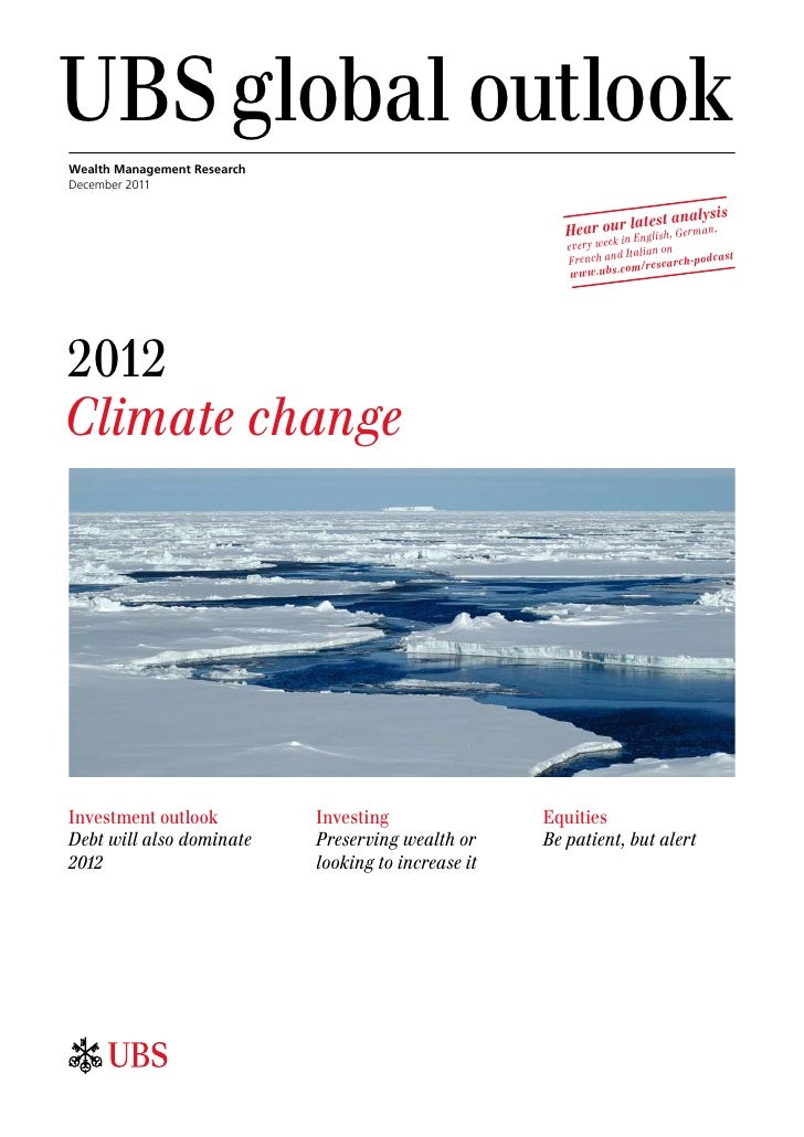 UBSglobal outlookWealth Management ResearchDecember 2011                                                                 ...