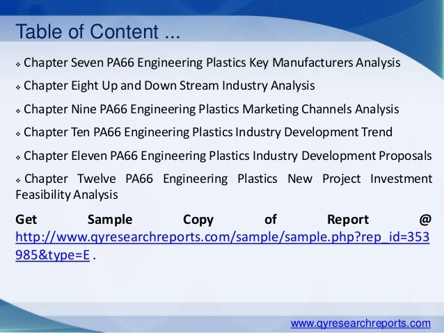 polyamide 66 pa66 global trends es Major players in the polyamide 66 (pa66) market, the main drivers and restraints affecting the market in the coming years, and the key trends emerging in the market are profiled in detail in the market research report, titled polyamide 66 (pa66) research report 2015.
