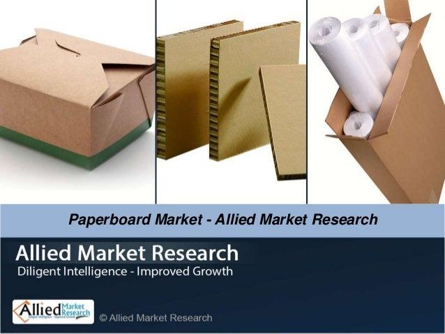 Paperboard Market - Allied Market Research