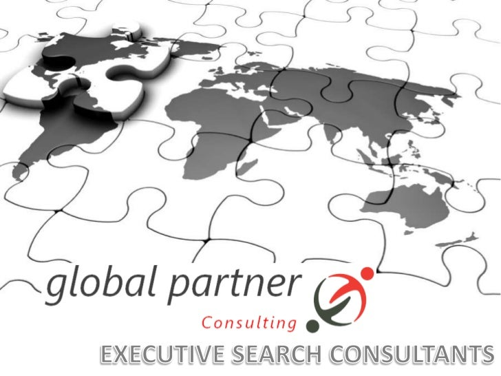EXECUTIVE SEARCH CONSULTANTS<br />