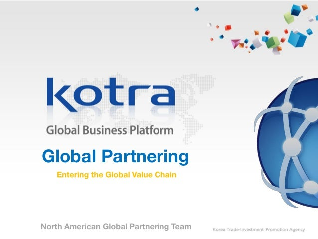 Global Business matchmaking