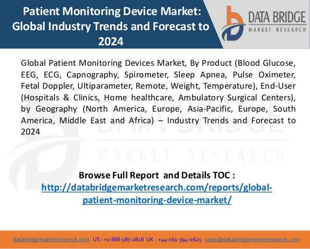 patient monitoring devices market products Explore our global directory of patient monitoring devices supplies select and organize medical products you want to learn more about.