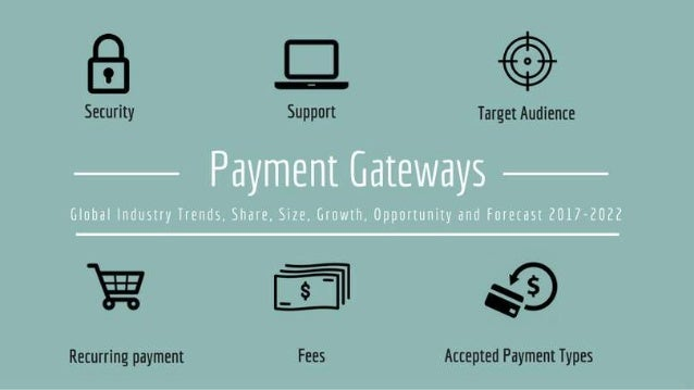 Global payment gateways market industry trends and forecast 2022
