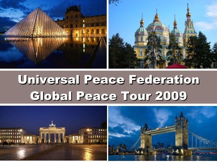 Universal Peace Federation Global Peace Tour 2009