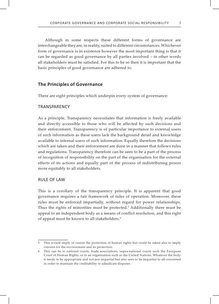 csr and corporate governance pdf